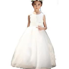 Vestido Infantil Festa Daminha Princesa Florista Comunhão