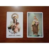 100 Tarjetas Con Oracion De La Virgen Del Carmen Estampas