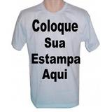 Camisas Personalizada Foto Formatura Empresa 1 Estampa A3