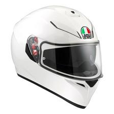Casco Integral Agv K3 Sv Blanco White Doble Visor Sti Motos