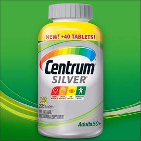 Centrum Silver Homem Mulher Adult + 50, 325cps. Importado