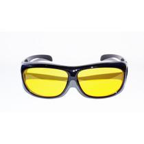 Óculos Visão Noturna Amarelo Para Dirigir A Noite 400 Uv