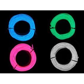 Cordão De Neon, Led Decoração, Carro, Tuning,, 5 Metros