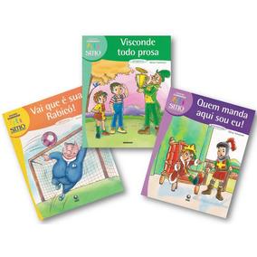 Coleção Conviver Sítio Do Picapau Amarelo 3 Livros Infantis