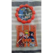Tazo + Lançador Naruto