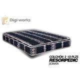 Colchón Resorpedic Sonata 2 1/2 Plz Incluido Iva