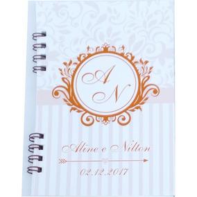 Mini Agenda Personalizada - 10x15cm - Lembrança - Brinde