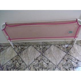 Protetor De Cama Infantil Tub Line Baby Liso Rosa Tubline