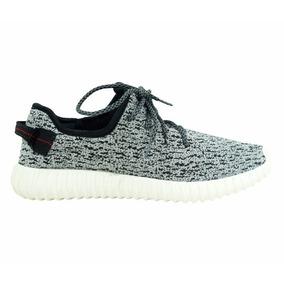 Tênis adidas Yezy Boost 350 Rajado Cinza Original Imperdivel