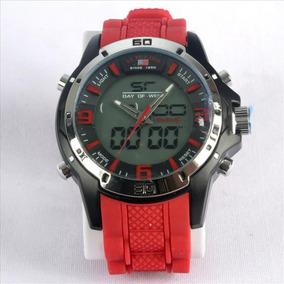 981507b228e Us9058 Relogio Polo Preto Frete Masculino - Relógios De Pulso no ...