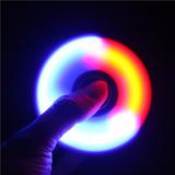Fidget Spinner Luminoso Con Luz Led Envio Gratis