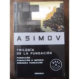 Asimov Trilogía De La Fundación. Nuevo.