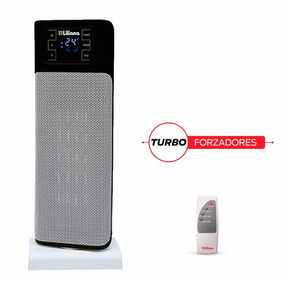 Calefactor Turbo Forzador Liliana Controlhot Torre Regulable