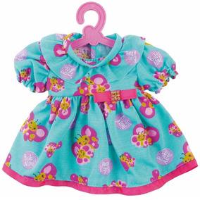 Roupinha Boneca Baby Alive Vestido Borboletas Cotiplas 2107