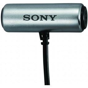 Sony Ecm Cs3 Microfone De Lapela (open Box) Youtube Pronta E