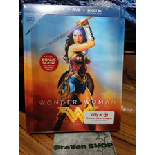 Película Wonder Woman Mujer Maravilla Blu Ray Digibook
