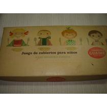 Antiguo Juego De Cubiertos Para Niños Guadix