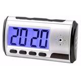 Relógio Espião Despertador Controle Remoto Sensor Movimento