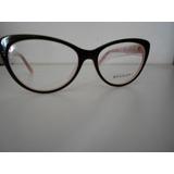Armação Feminino P/ Óculos De Grau Bvlgari Acetato