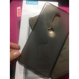 Kit Goma Flexible + Vidrio Templado Lenovo Phab 2 Plus 670y