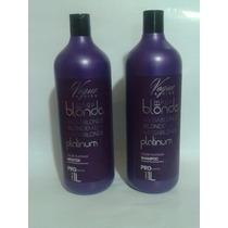 Escova Definitiva Mega Blonde Platinum Vogue 1 Litro