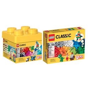 Kit Brinquedos Menino Lego Classic Balde 10692 + Lego 10693