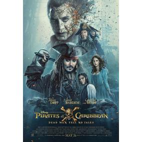Pôster - Piratas Do Caribe 5 - Frete Grátis