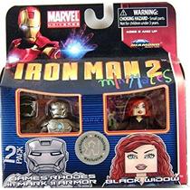 Iron Man 2 La Película Minimates Figura James Rhodes En Arm