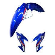 Paralama E Bananinha Titan 160 Azul 25 Anos Adesivo Titan160