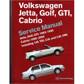 Manual Taller Volkswagen Golf,jetta,gti,cabrio 1993-2002 Pdf
