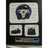 Control (volante) Para Playstation 3 Y Conección Usb Para Pc