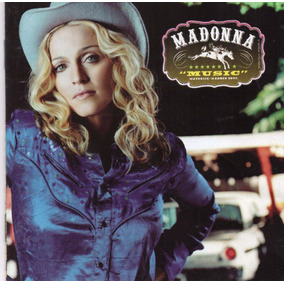 Madonna Music México Cd Maverick 2000 !