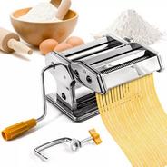 Maquina Pastas Acero Fabrica Fideos Tallarin Cinta Raviolera