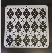 Camila - Stencil Fondos - 30 X 30cm - Ca152