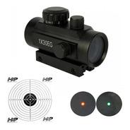 Luneta Mira Holográfica Red Dot Riflescope 1x30eg Mount De 11mm/22mm + 20 Alvos Adesivos