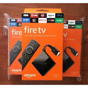 Amazon Fire Tv 4k (2018) Uhd, Hdr, Hdmi Controle Alexa Voice