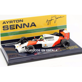Mclaren Mp4-5b 1990 Senna World Champion- F1 Minichamps 1/43