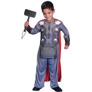 Disfraz De Thor Con Luz Con Licencia Original New Toys