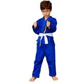 Kimono Jiu Jitsu Infantil Azul Red Nose