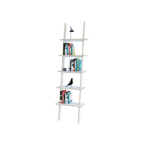 Zahi Librero De Madera - Blanco