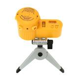 Nivelador Laser Giratório Mini Tripé Vertical Horizontal 360