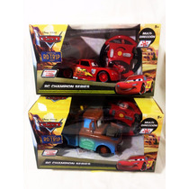 2 Radio Control Cars Rayo Mcqueen Rc Champion Series