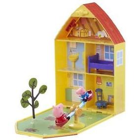 Peppa Pig Casa En Estuche C/fig + Acc Int 06156 La Cerdita