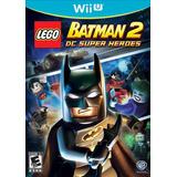 Lego Batman 2 Dc Super Heroes Nuevo Wii U Dakmor Canje/venta