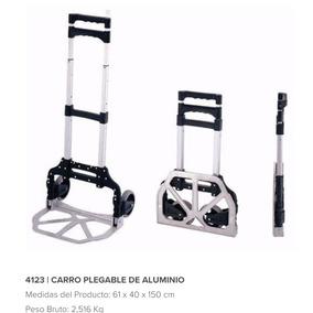 Carro Carrito Porta Equipaje/multifunción Plegable C/ruedas