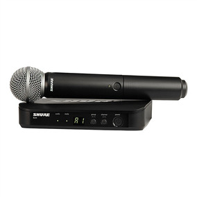 Microfone Shure Sem Fio Blx24 Br / Sm 58 Loja Credenciada