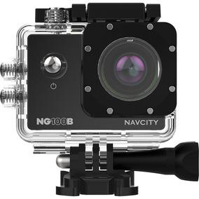 Câmera Esportiva Navcity Nb100-b Full Hd 12mp À Prova D