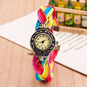 Reloj Para Dama Estilo Retro Vintage Colores