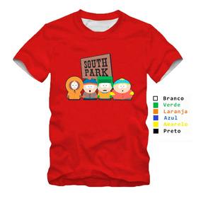 Camisa Infantil Personalizada South Park Placa