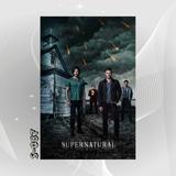 Poster Supernatural Sobrenatural Filme Seriado U0v Tv Terror